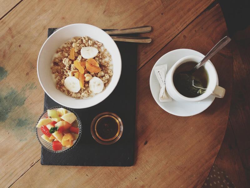 breakfast granja petit bo barcelona
